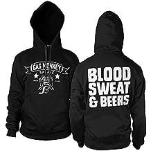 Officially Licensed Merchandise GMG - Blood Sweat & Beers Hoodie