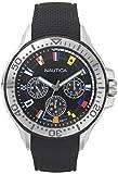 Nautica Reloj Analogico para Hombre de Cuarzo con Correa en Silicona NAPAUC009