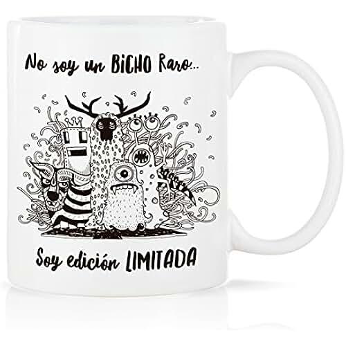 dia del orgullo friki Taza mug desayuno de porcelana blanca 30 cl. con mensaje Modelo Edición Limitada
