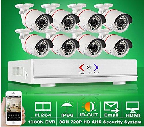 GOWE-8-ch-1080-N-HDMI-DVR-CCTV-sistema-grabador-de-vdeo-impermeable-AHD-720P-1800tvl-Home-Kit-de-vigilancia-cmara-de-seguridad