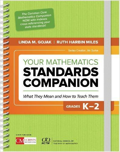Your Mathematics Standards Companion, Grades K-2: What They Mean and How to Teach Them (Corwin Mathematics Series)