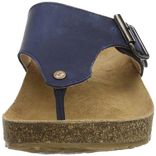 Haflinger  Conny, Mules femme Bleu - Blau (Blau 777)
