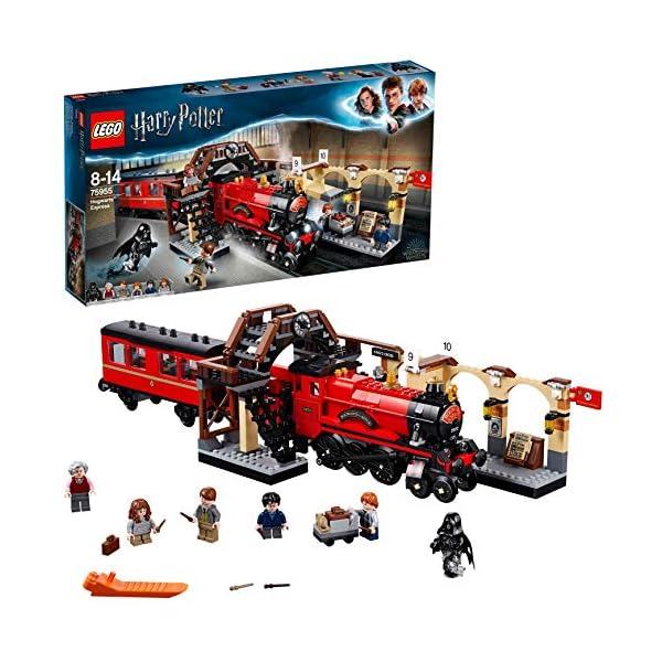 LEGO HarryPotter EspressoperHogwarts, Giocattolo eIdea Regalo per gli Amanti del Mondo della Magia,Set di Costruzione per Ragazzi, 75955 1 spesavip
