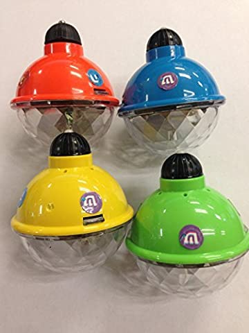 Chanukka Kreisel - leuchtet auf, Kreisel für Chanukkah aus plastic (Kunststoff) Preis für 1 (Hanukkah Dreydle, sewiwon)