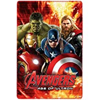 Bambini Ufficiale Marvel The Avengers Coperta in pile 100 x 150 cm, Red, 100 x 150 cm