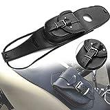 SALAMOPH Motorrad Benzin Tankdeckel Panel Pad Bib Pouch Tasche Motorrad Benzin Tank Tasche für...