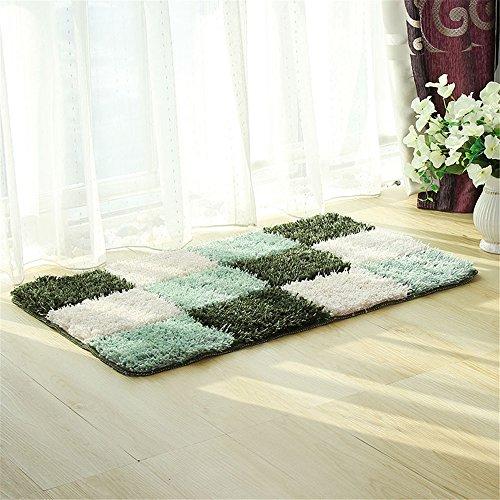 zxdg-home-microfibra-poliestere-tpe-tappeto-bagno-antiscivolo-pad-pad-mano-verde-6090cm1929ft