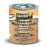 Saicos 500 3305 Premium Hartwachsöl, farblos, 2,5 Liter