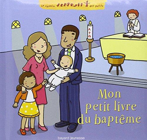 Mon petit livre du baptême par Delphine Saulière