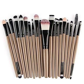 Make-up-Pinselsatz 20st Professionelle Make-up-Bürste, Weich Und Fehlerlos Kunstfaserbürste, Professionelle Foundation Blend Blush Augen Makeup Pudercreme Makeup Pinsel