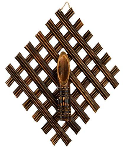 Godavari Tribal Craft's Bamboo Flower Vase (3 x 35 x 42 cm, brown)