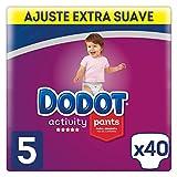 Dodot Activity Pants Pañal-Braguita Talla 5, 40 Pañales - 12-17 kg