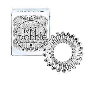 Invisibobble Original Haargummis, crystal clear, 1er Pack, (1 x 3 Stück)