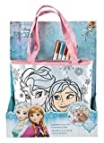 Undercover FRQA2440 - Shopping Bag zum Bemalen, Disney Frozen inklusive 5 Fasermalern