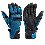 LEKI Progressive 7 S mf Touch Handschuhe (Petrol/schwarz), 9.5