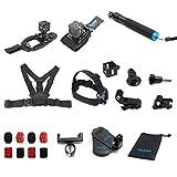 TELESIN 13-in-1 Kit de montaje de accesorios para Polaroid Cube y estilo de vida Polaroid CUBE +...