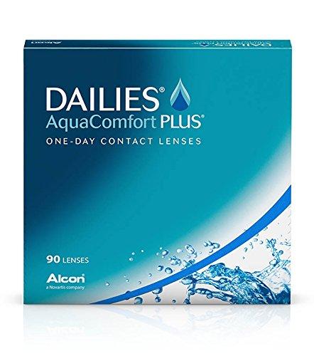 Dailies AquaComfort Plus (90 Stk.) (Dioptrien: -8.50 / Radius: 8.70 / Durchmesser: 14.00)