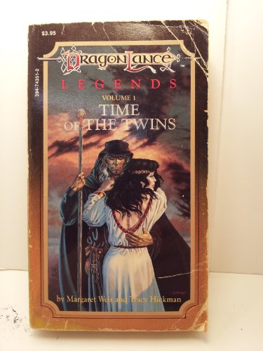 Cover of Time Of The Twins (Dragonlance: Legends 1)