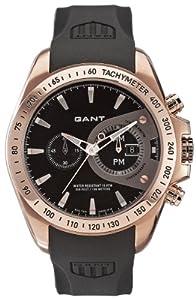 Reloj de caballero GANT Bedford W10385 de cuarzo, correa de goma color negro (con cronómetro) de Gant