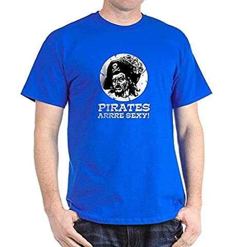 CafePress - Pirates Are Sexy Black T-Shirt - 100% Cotton T-Shirt