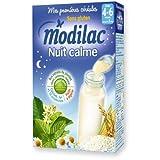 Modilac Nuit Calme Sans Gluten de 4 Mois à 3 Ans 300 g