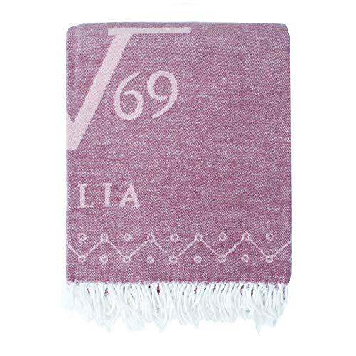 Versace 19v69 Hülle, dunkelviolett, 38x38x20 cm, 13