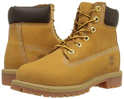 Timberland - Premium Boot - Mixte Junior Jaune (Yellow)