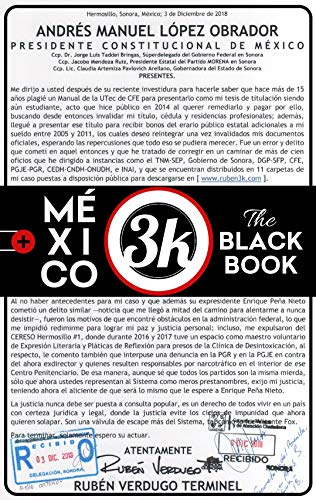 MÉXICO: The Black Book por rubén3k (3k)