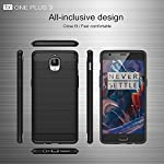 Compatibility: This Durable Carbon Fiber Design TPU Flexible case is designed specifically for the OnePlus 3 / OnePlus 3T 5.5 Inch Smartphone 2016 Release Product Description: Made of premium long-lasting durable TPU rubberized material, this case of...
