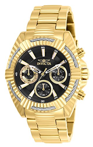 Invicta Women's Analog Quartz Watch with Stainless-Steel Strap 27186