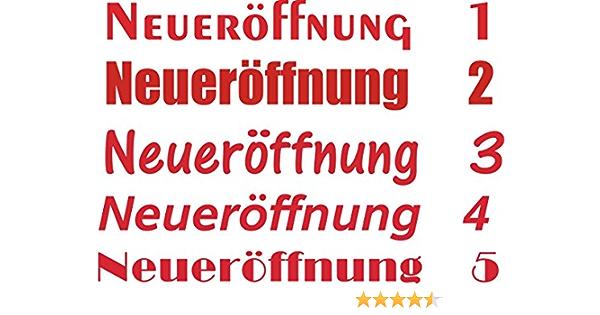 Sticker Design Shop NeuerÖffnung Aufkleber Schaufensterbeschriftung Werbung Schaufenster Wunschtext 50 Cm Auto