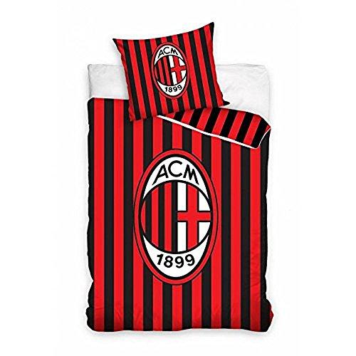 AC Mailand Bettwäsche Set 140x200 cm 8002