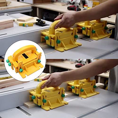 51k%2B7xf6yyL - Bespick 3d Pulsador de Seguridad, Herramienta de Carpintería Pulsador para Madera de Plástico ABS