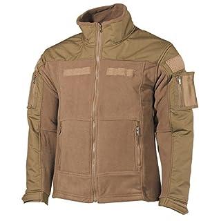 Fleece-Jacke, Combat, coyote tan Größe: XL