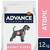 Advance Veterinary Diets Croquettes Pour Chien Soin Atopique Lapin et Pois - 12 Kg
