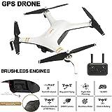 SMUOO Drone GPS Doppio GPS 5G con Videocamera Cardanica 1080P 25 Minuti Tempo di Volo RTF 800M Distanza RC Quadricottero,per Regali per Adulti Principianti Professionisti