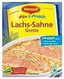 Maggi Fix Lachs - Sahne - Gratin, 19er Pack (19 29 Beutel)