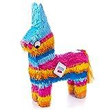 MY PINATA Pinata Esel | Lama | Pferd zum Befüllen mit Süßigkeiten (groß) | perfekt als Geburtstags-Spiel, für den Kinder-Geburtstag oder als Hochzeitsspiel