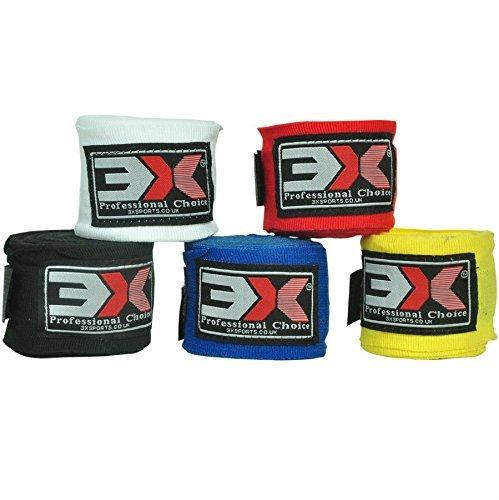 Vendas de boxeo, 3x, deportes, cubiertas para mano, guantes interiores