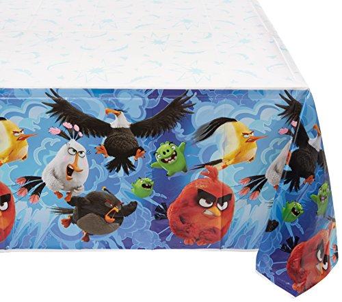 Amscan 5715981.37X 2,59m Angry Birds Film Kunststoff Tischdecken