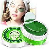 SET-SAIL 60 Scheiben Spirulina natürliche Augen Folie Paste Entsalzung feine Linie Beutel zu schwarzem Auge, Augenmaske