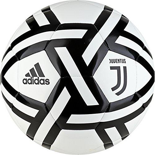 Adidas Juventus Pallone Calcio Authentic 2018/19 Juve (Taglia 5) - Nero, 5
