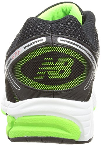New Balance M670BG1 D, Multisports outdoor Homme Noir (Black)