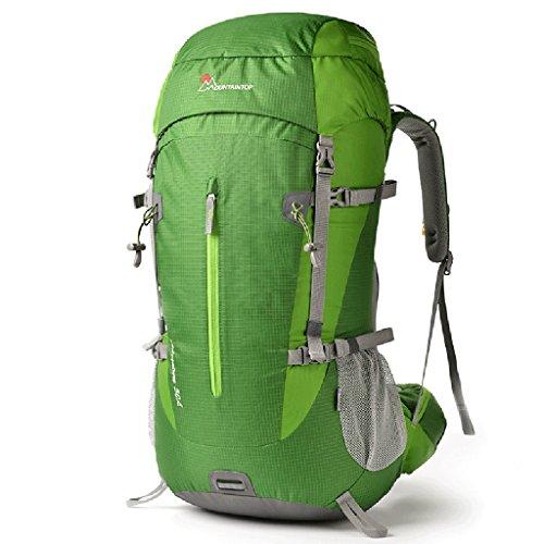 HWLXBB Borsa per alpinismo all'aperto Uomini e donne 50L Borsa per alpinismo multifunzione impermeabile Escursioni alpinismo Zainetto per il tempo libero all'alpinismo zaino ( Colore : 2* ) 3*