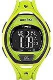 Timex Ironman Sleek 50 Full-Size Black,Green sport watch - Sport Watches (Black, Green, Resin, Water resistant, Resin, 100 m, 24 h)