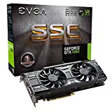EVGA GeForce GTX 1060 SSC Gaming ACX 3.0 GeForce GTX 1060 6 GB GDDR5 – Graphics Cards (NVIDIA, GeForce GTX 1060, 7680 X 4320 Pixel, 1607 MHz, 1835 MHz, 7680 X 4320 Pixel)