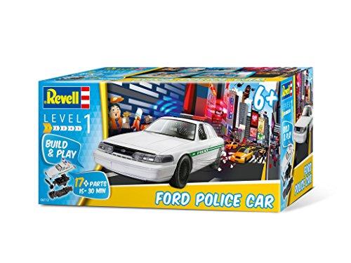 Revell 06112 - Steckbausatz - Ford Police Car im Maßstab 1:25