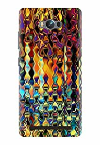Noise Designer Printed Case / Cover for Asus Zenfone Max ZC550KL / Bling / Colored Glass Texture Design