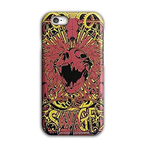 Wilde Monster Kunst Horror Hölle Teufel iPhone 6 / 6S Hülle | Wellcoda