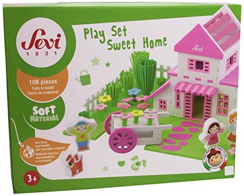 Trudi 82861 - Spiele-Set Haus -Sevi Soft - Kinder Für Platten Aufgeteilt